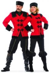 Kosakin de luxe Russin Damenkostüm Kostümfest Mottoparty Fasching