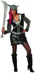 Warrior Lady Kriegerin Damenkostüm Verkleidung Faschingsparty