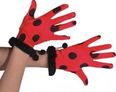 Handschuhe Käfer Biene Faschingszubehör Partyzubehör Karnevalsfete