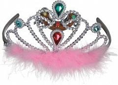 Diadem Prinzessin Königin Adlige Krönchen Kopfbedeckung Faschingszubeh