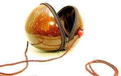 Tasche Coconut Fasching Karneval Mottoparty Accessoires