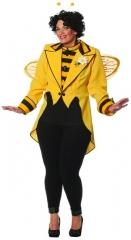 Bienenkönigin Frack Übergröße Faschingskostüm Karneval Mottoparty Kost