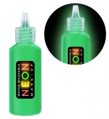 Neon Make Up 80er Jahre Party Body Painting Disco Fashion Körperfarbe
