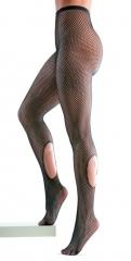 Netz Strumpfhose mit Löchern Damenstrumpfhose Fasching