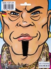 Kinnbärtchen Soul Patch schwarz Indianerbart Wilder Westen Bart