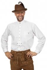 Trachtenhemd weiß Trachtenmode Herrentrachtenhemd auch Übergröße