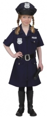 Polizistin Verkleidung Kinderkostüm Kinderfasching Kostümfest Karneval