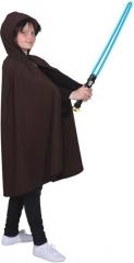 Umhang mit Kapuze Jedi Kinderkostüm Verkleidung Halloween Umhang Fastn