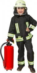 Feuerwehr Feuerwehranzug (Jacke,Latzhose) 104 116 128 140 152