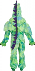 Dino Kinderoverall mit Kapuze Dinosaurier Urzeittier Straßenfasching