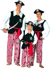 Pirat Kostüm Übergröße 60 Karneval Fasching Party