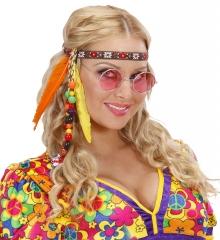 Hippie Hippiestirnband Kopfband 70er Jahre Haarband