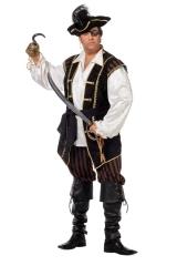 Pirat Seeräuber Piratenkostüm auch Übergröße XXL 64