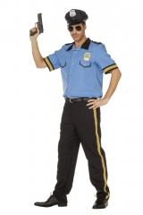Polizeikostüm Polizist Polizeihemd + Polizeihose 48 50 52 54 56 58 60
