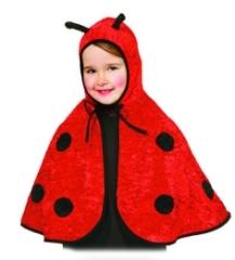 Biene oder Marienkäfer Kinderkostüm Karneval Fasching