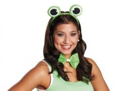 Frosch Frosch Set 2teilig Frogger Karneval Tierkostüm Fasching