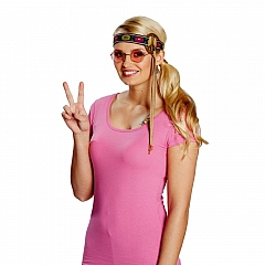 Hippie Hippiestirnband Peace Peacezeichen Peace Stirnband