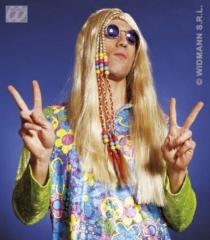 Hippie 60er 70er Jahre Perücke Themenparty Karneval