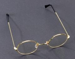 Omabrille Opabrille mit Gläser  Nikolausbrille Weihnachtsmannbrille