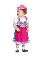 Heidi Kleid Kinderkostüm Kleinkinder Verkleidung Oktoberfest Kinderpar