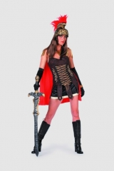 Spartacus Lady Damenkostüm Römerin Faschingskostüm Mottoparty Kostümfe