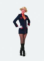 Offiziersdame Damenkostüm Faschingskostüm Karneval Kostümfest Mottopar
