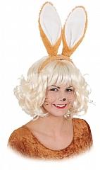 Hasenohren Hase braun Ostern Bunny Karneval Fasching Kostüm
