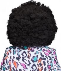 Super Afro Perücke Jimmy 70er Jahre Karneval Fasching