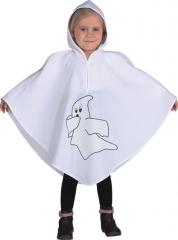 Gespenst Umhang mit Kapuze Ghost Kinderkostüm Halloween Faschingskostü
