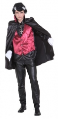 Vampir Dracula Weste mit Umhang Vampirkostüm 50/52 oder 58/60