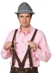 Herrenhemd kariert Karohemd Oktoberfest Karneval