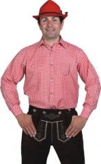 Hemd Karohemd Herrenhemd Faschingshemd Oktoberfest Trachtenhemd