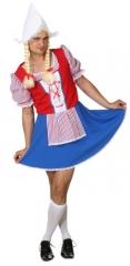 Holländerin Kleid für Herren Junggesellenabschied Herrenkleid Karneval