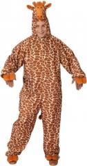 Tierkostüm Giraffe Overall Herrenkostüm Fasching