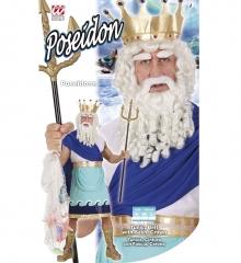 Wassermann Neptun Poseidon Atlantis Herrenkostüm