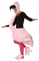 Flamingo Overall Herren Tierkostüm Fasching Karneval