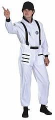Astronaut Overall Herrenkostüm Verkleidung Faschingsparty Kostümfest