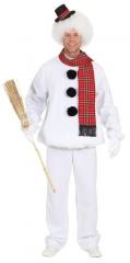 Schneemann Herrenkostüm Fasching Karneval Weihnachten Fastnacht