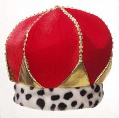 Krone König Karneval Fasching Kostüm Party