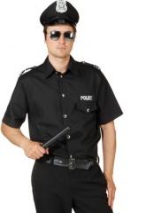 Police Hemd Polizeihemd Polizist Faschingsparty Kostümfest Karneval