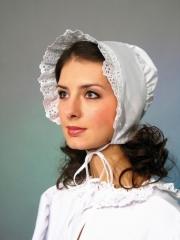 Haube Holländerin Kopfbedeckung Niederländerin Holländermütze