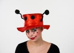 Marienkäferhut Tierhut Karneval Fasching Zubehör