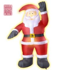 Riesiger aufblasbarer Weihnachtsmann Nikolaus Innen Außen Dekoration