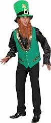 St Patricks Day grüne Weste grüner Kobold Irisch Irish Leprechaun