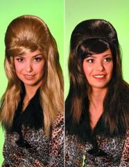 70er 80er Jahre Hochtoupierte Perücke Karneval Schlager
