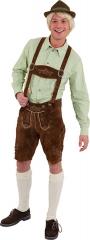 Trachtenhemd grün kariert Trachtenmode Oktoberfest Herrentrachten