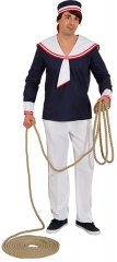 Schiffsjunge Seefahrer Sailor Seemann Matrosenhemd Matrosenmütze