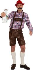 Lederhose Trachtenhose 100% Leder Oktoberfest Wiesn Fashion