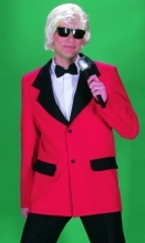 Heini Superstar Show Jacke Showjacke rotes Jacket Sänger