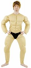 Bodybuilder Muskelbody Protz Junggesellenabschied Karneval Fasching